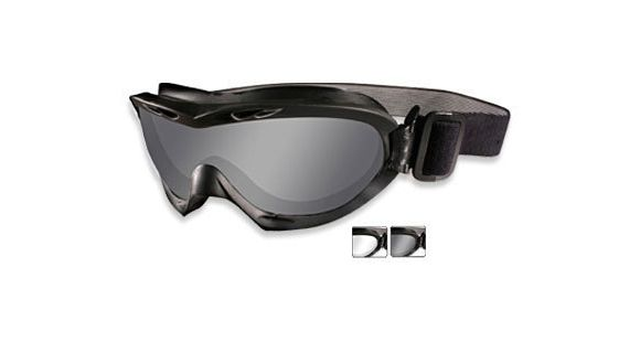 3cdcd34448 Wiley X Nerve Goggle - 2 Lenses- Smoke Grey