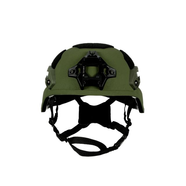 Avon Protection Combat Full Cut MICH Ballistic Helmet - Large, Black - Includes 7 Pad System and Standard Retention, Chin Strap, 1 per case, 98009003389