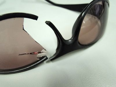 Bolle Broken Sunglasses