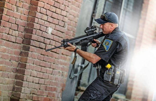 Burris AR-536 Prism Sight 5X Tactical Red Dot Sight - Ballistic/CQ Reticle 300210