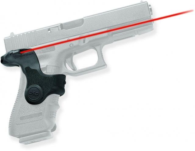 Crimson Trace Lasergrip w/ Front Activation, Black - For Glock 17/19 - LG417