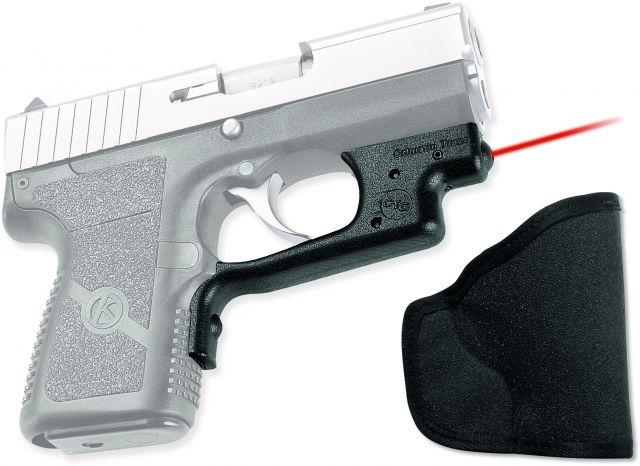 Crimson Trace Front Activation Compact Laser Guard for Kahr PM9, PM440  P9,  P40, with Holster, LG437H
