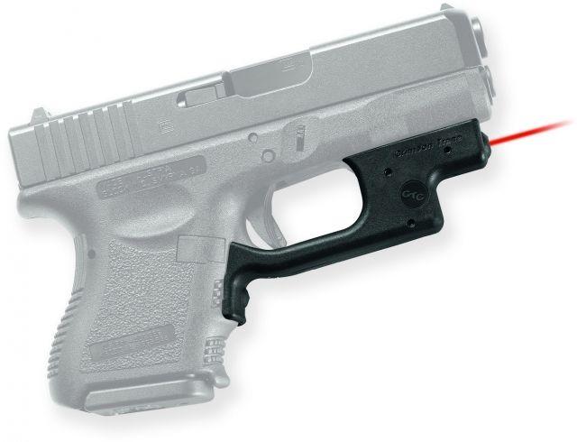Crimson Trace Laserguard Sight, Black - Compact For Glock 19/23/25 and Similar LG436
