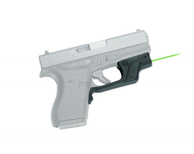 Crimson Trace Laserguard Green Laser Sight for Glock 42 & Glock 43 LG-443G