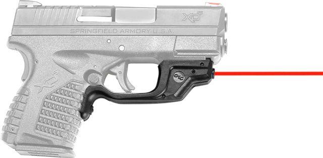 Crimson Trace LaserGuard Laser Sight for Springfield XD-S, Front Activation, Black, LG-469