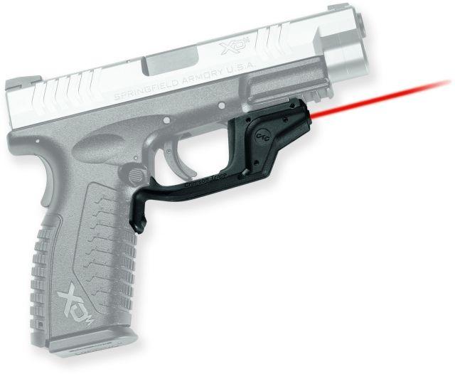 Crimson Trace Laserguard Sight, Black - Springfield Armory XD and XDM - LG448