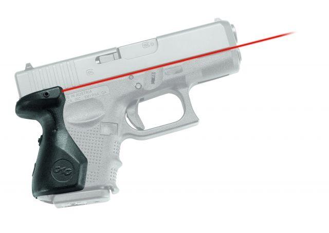 Crimson Trace LaserGrip For Glock 4th Gen SubCompact Laser Sight Grip, Polymer LG-852