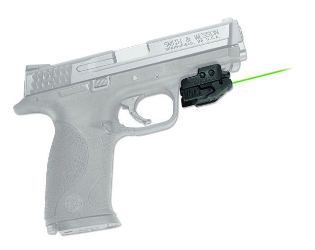 Crimson Trace Rail Master Green Laser Sight,Black,Universal Fit CMR-206