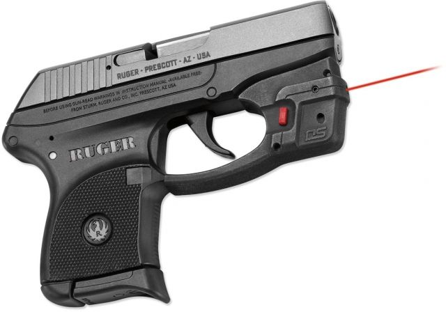 Defender Series by Crimson Trace Ruger LCP- Accu-Guard Defender series, Black DS-122