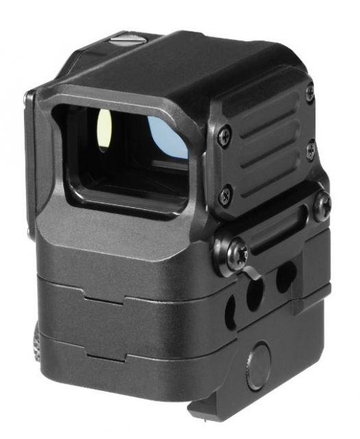 DI Optical Falcon Prismatic Red Dot Sight w/ Push Button Control and Auto Shut Off Mode, Matte Black FC1