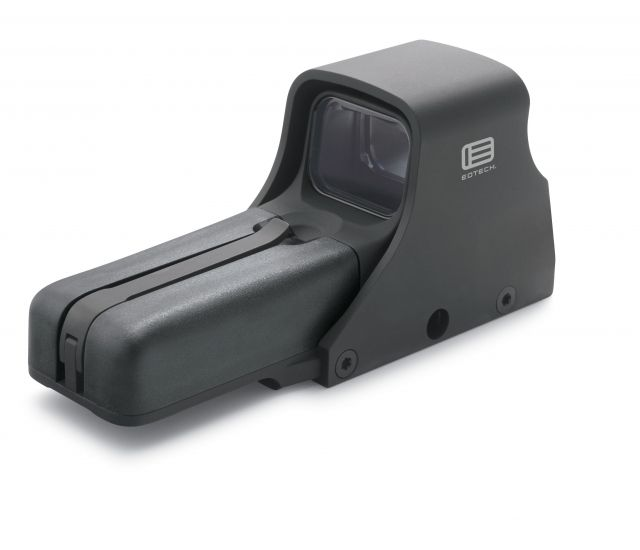 EOTech 512 A65 Holographic Weapon Sight, Black, Standard Accessories 512-A65-EE