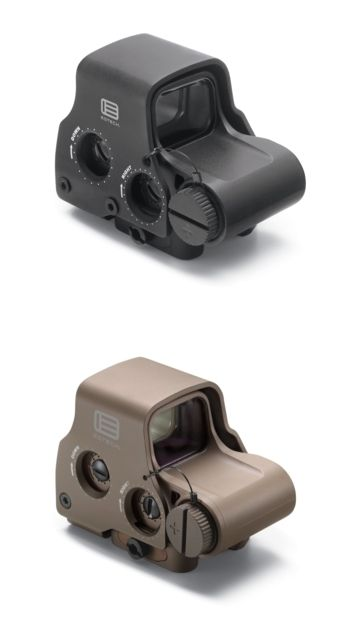 EOTech Transverse EXPS3 Red Dot Sight, Black w/ 2-Dot Reticle EXPS3-2