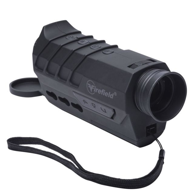 Firefield Vigilance 1-8x16 Digital Night Vision Monocular, Gray, FF18000
