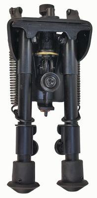 Harris Engineering Ultralight Hinged Base 6-9 Inch Bipod, Black BR