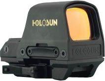 Holosun Circle Dot Open Reflex Sight,2 MOA Dot,65 MOA Circle,91x65x40mm, Black HS510C