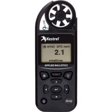 Kestrel Elite Weather Meter with Applied Ballistics with LiNK, Black, 0857ALBLK
