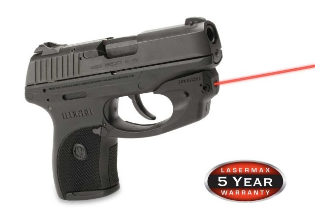 LaserMax CenterFire Red Laser Sight for Ruger LC9 pistols CF-LC9
