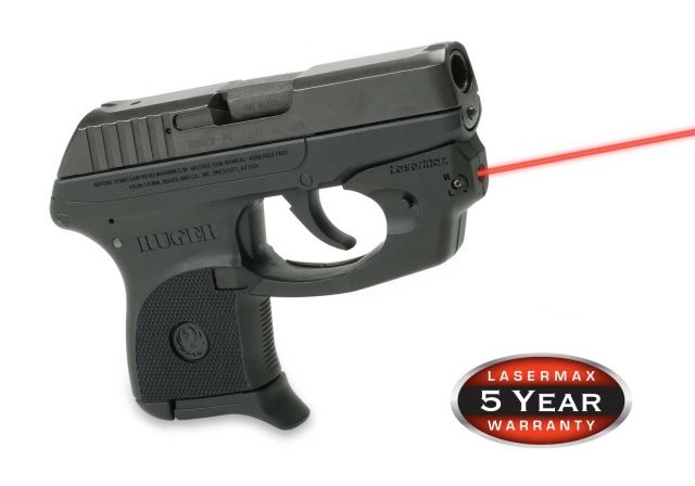 LaserMax CenterFire Laser Sight for Ruger LCP - CF-LCP