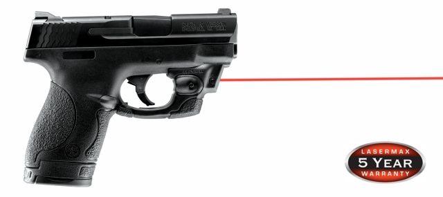 LaserMax CenterFire Red Laser Sight - S&W M&P Shield 9mm Handgun - CF-SHIELD