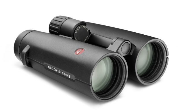 Leica Noctivid 10x42mm Roof Prism Binoculars, Rubber Armor, Black, 40385