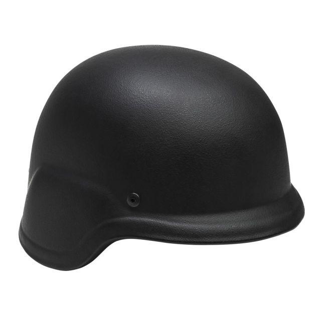 NcSTAR Level IIIA Ballistic Helmet w/Carry Case, Black, Extra Large, BPHXLB