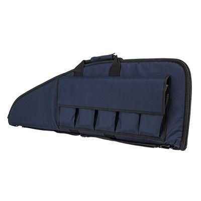 NcSTAR VISM Rifle Gun Case, 36in, Blue w/ Black Trim, CVBL2907-36