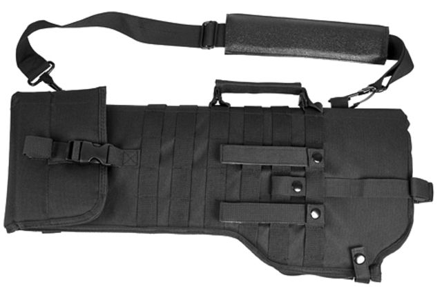 VISM Tactical Rifle Gun Case/Weapon Scabbard - Black, Expandable CVRSCB2919B