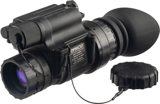 OPMOD Limited Edition GEN 3 PVS-14 Pinnacle Night Vision Monocular,Green Phosphor,Charcoal, OPMODPVS14G