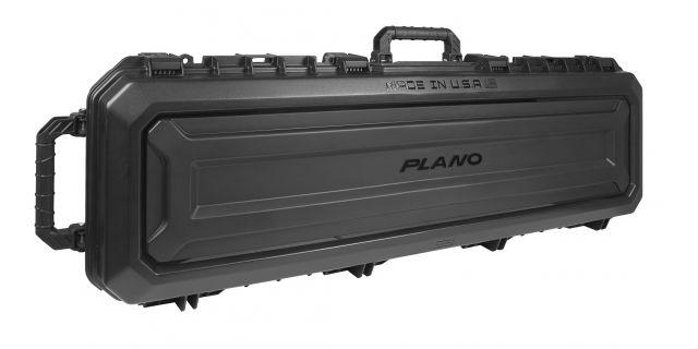 Plano Molding All Weather 52in Double Scoped Rifle/Shotgun Case,Black, PLA11852