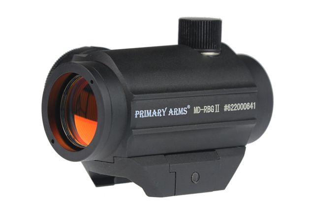 Primary Arms CLxZ Gen II Micro Dot Sight, Removable Base, 1/2 MOA, 2 MOA Red Dot, Black, MD-RBGII 810011