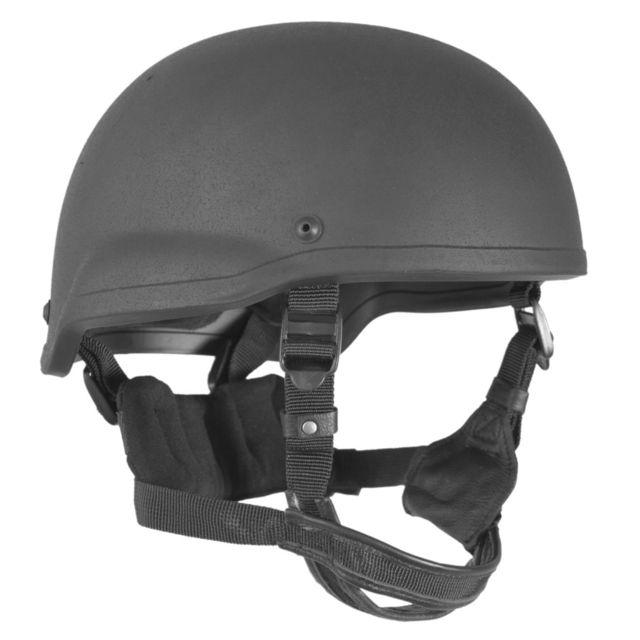 Shellback Tactical Tactical Level IIIA ACH Mid Cut BOA Ratcheting Ballistic Helmet, Black, Large, NSN N, SBT-501MC-BK-LG