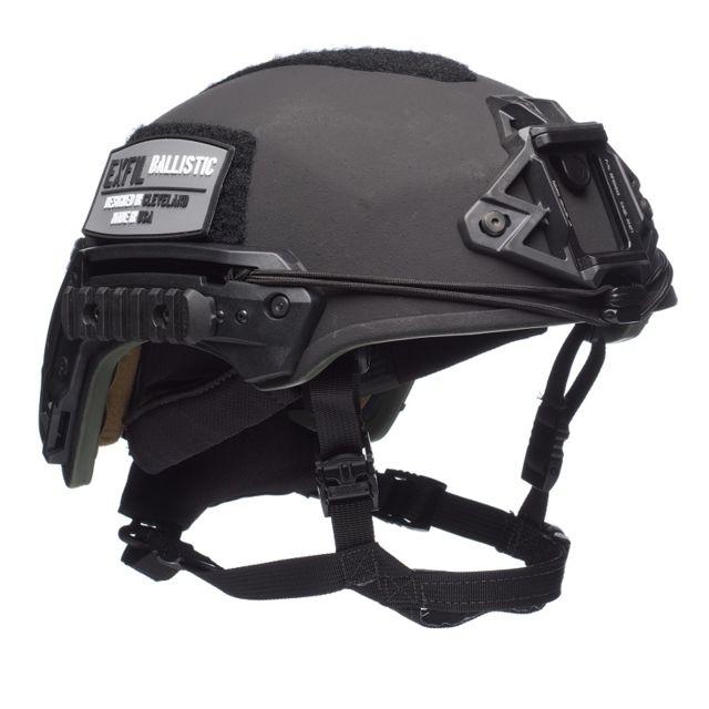 Team Wendy EXFIL Ballistic Helmet, Rail 3.0, Black, Medium/Large, 73-R3-21S-E21