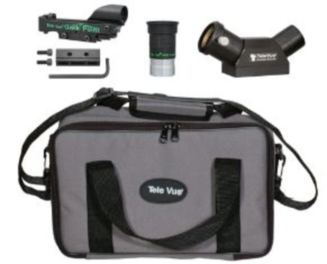 Tele Vue TV-60 60 degree Accessory Package w/ Qwik Point Finder,Everbrite,Carry bag...