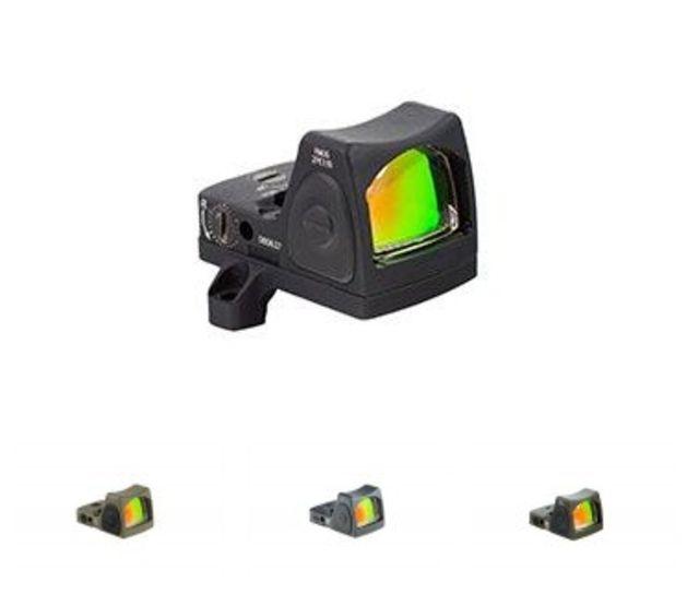 Trijicon RMR Type 2 Adjustable LED 3.25 MOA Red Dot Sight, Black, 3.25MOA, 700673