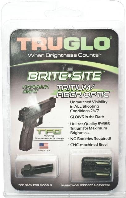 TruGlo Tritium/Fiber Optic Night Sight Set, Green Front/Rear - Springfield XD - TG131XT