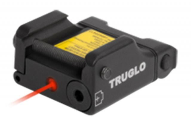 TruGlo Micro-Tac Micro-Tac Tactical Red Laser, Weaver/Picatinny Mount, Blk, TG7630R