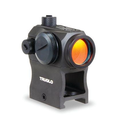 TruGlo Tru-Tec Red Dot Sight, 20mm, 2 MOA Reticle, Black, TG8120BN