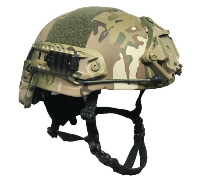 United Shield Spec Ops Delta Mid Cut X-harness Ballistic Helmet, Multicam, Extra Large SPTAMC-MC-XL
