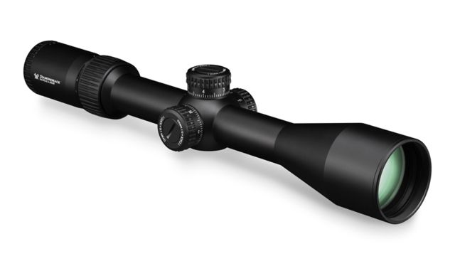 Vortex 6-24x50 Diamondback Tactical FFP Riflescope, 30mm Tube, EBR-2C MOA Reticle, Black, DBK-10028