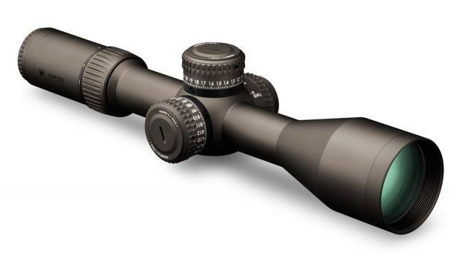 Vortex Razor HD Gen II 4.5-27x56mm Riflescope w/EBR-2C MOA Reticle, Stealth Shadow Black, RZR-42705