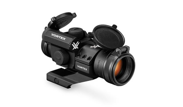 Vortex StrikeFire II Red Dot, 4 MOA Red/Green Dot w/ Lower 1/3 Co-Witness Cantilever Mount SF-RG-501