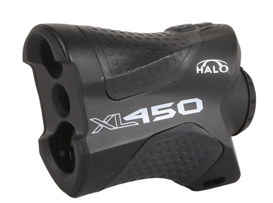 Halo 450 Yard Laser Rangefinder, Black XL450