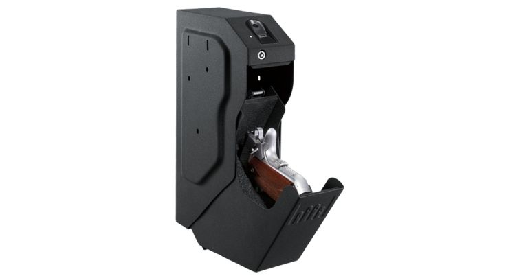 Small gun safe fingerprint lock
