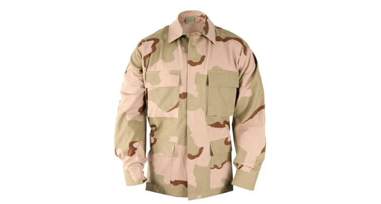 Propper BDU 4-Pocket Coat, 50/50 NYCO Ripstop, Extra Large, Long, 3-Color Desert at Sears.com