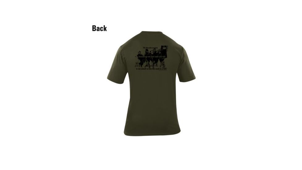 5.11 Tactical Short Sleeve Logo Tee Safe Night 40088C