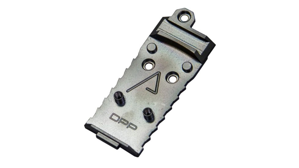 Agency Arms Chamfered DPP Red Dot Sight Mount Plate for Glock