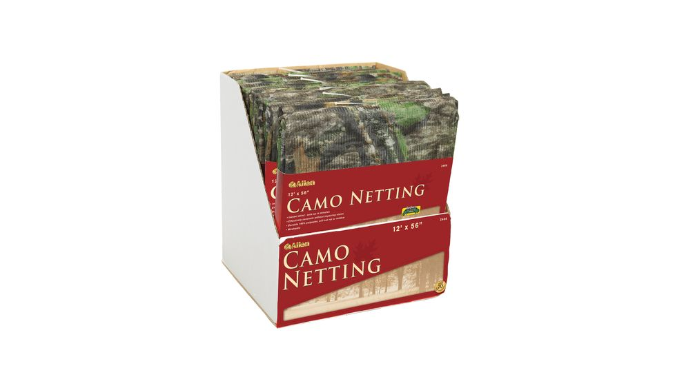 Allen Nylon OakBrush Camouflage Netting 56 Inches X 12 Feet 2466