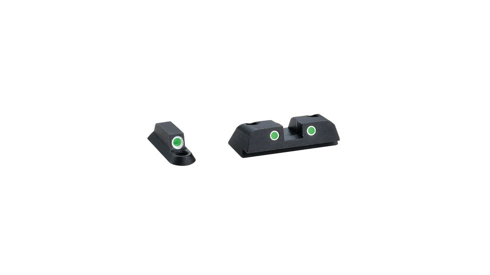 Ameriglo Classic Tritium 3-Dot Night Sights For Beretta Nano Green Front Green Rear BR-141