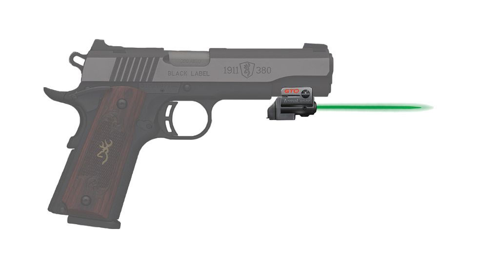 ArmaLaser GTOG/FLX84 Laser Sight for Browning 380 1911 - Green Beam