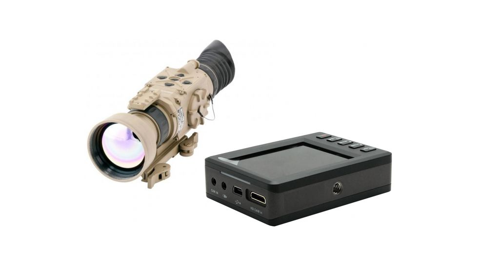 Armasight Zeus 336 5-20x75 Thermal Imaging Weapon Sight, FLIR Tau 2 336x256 17 um Core, 75mm Lens